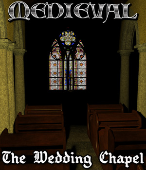 Medieval: The Wedding Chapel 3D Models Cybertenko