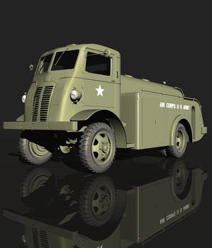 AUTOCAR U2044 ( for VUE ) 3D Models Nationale7