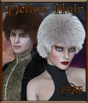 Prae-Delion Hair 3D Figure Essentials prae