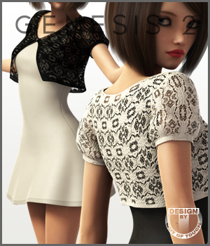 Dottie Dress for Genesis 2 Female(s) by outoftouch