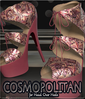 COSMOPOLITAN - Head Over Heels 3D Figure Essentials Anagord