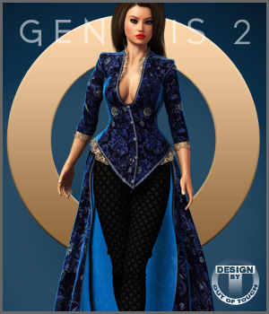 Centigrade Outfit for Genesis 2 Female(s) 3D Figure Essentials outoftouch