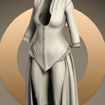 Centigrade Outfit for Genesis 2 Female(s) image 6