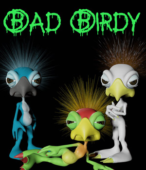 Bad Birdy 3D Models CHK2033