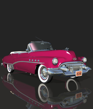 BUICK ROADMASTER 1951 (for VUE) 3D Models Software Nationale7