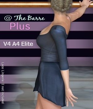 @ The Barre Plus V4-A4-Elite 3D Figure Essentials 3D Models nirvy