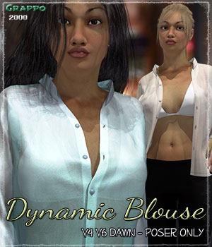 Dynamic Blouse 3D Figure Essentials Grappo2000