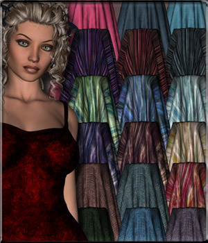 Perfectly Fabric - DAZ Shaders 2D Merchant Resources vyktohria
