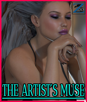 Z The Artist's Muse - V4-G2F/V6 3D Figure Essentials 3D Models Zeddicuss
