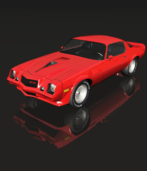 CHEVROLET CAMARO Z28 (for VUE) 3D Models 3DClassics