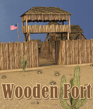 Wooden Fort 3D Models powerage