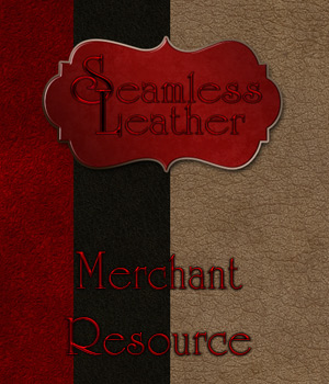 Merchant Resource - Seamless Leather 2D Graphics Merchant Resources antje