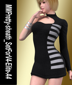 MMPretty-sheath_SetForV4-Elite-A4 3D Figure Assets mamota