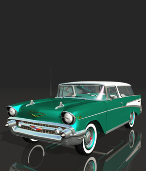 CHEVROLET NOMAD 1957 3D Models Nationale7