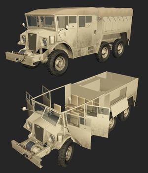 CMP 6X6 (for VUE) 3D Models Nationale7