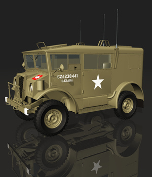 CMP 4X4 RADIO (for VUE) 3D Models Nationale7