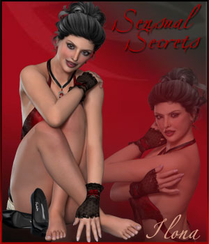 Sensual Secrets- V4-GF2-V6 Tutorials Software 3D Figure Essentials ilona
