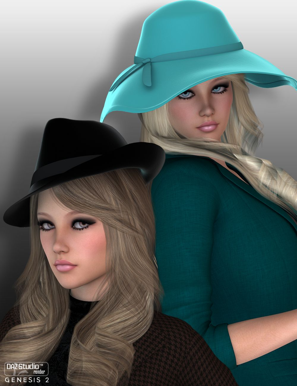 Beau Chapeau for Genesis 2 Females