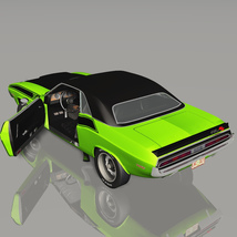 DODGE CHALLENGER 340 SIX PACK 1970 (for VUE) image 2