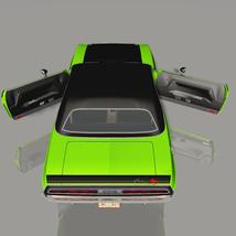 DODGE CHALLENGER 340 SIX PACK 1970 (for VUE) image 3