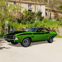 DODGE CHALLENGER 340 SIX PACK 1970 (for VUE) image 6