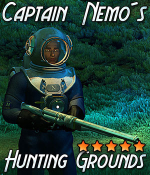 Captain Nemos Hunting Grounds 3D Models Cybertenko