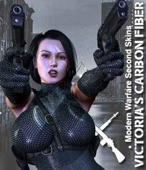 Victoria's Carbon Fiber 3D Figure Essentials Darkworld