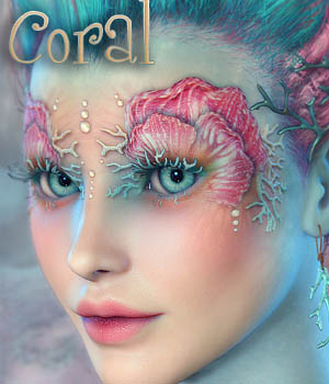 MDD Coral for V4.2 3D Figure Essentials Maddelirium