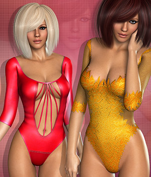 Sweetie for Lace Lingerie II 3D Figure Essentials Atenais