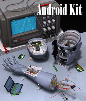 Android Kit 3D Models ile-avalon