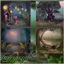 Fairywood Backgrounds image 4