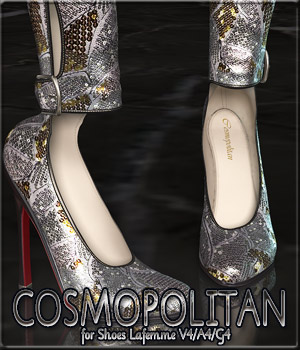 COSMOPOLITAN - Shoes Lafemme V4/A4/G4 3D Figure Essentials Anagord