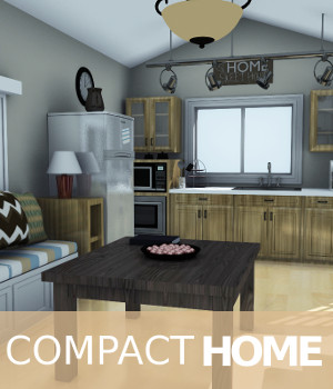 Compact Home 3D Models TruForm