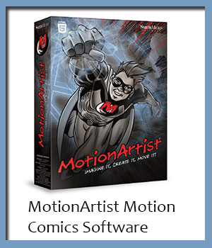 MotionArtist Motion Comics Software Poser Software : Smith Micro 3D Software : Poser : Daz Studio Smith_Micro