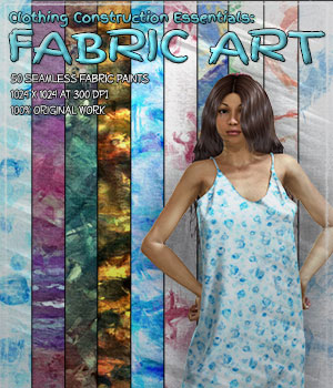 Clothing Construction Essentials: Fabric Art 2D Graphics Merchant Resources ShaaraMuse3D