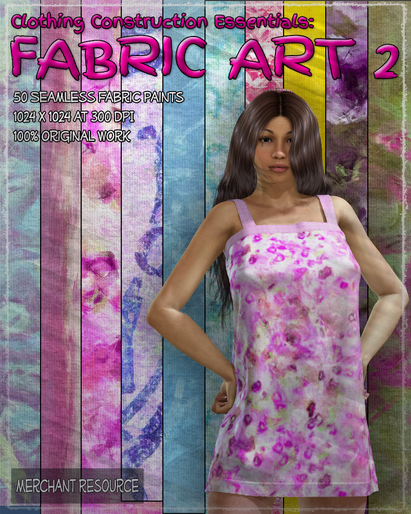 Clothing Construction Essentials: Fabric Art 2