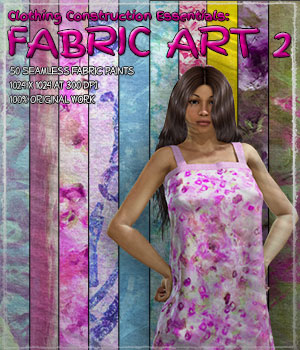 Clothing Construction Essentials: Fabric Art 2 2D Graphics Merchant Resources ShaaraMuse3D