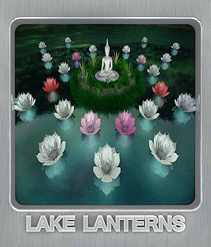 Lake Lanterns 3D Models whitemagus