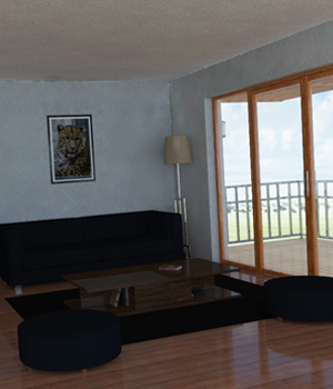 Living Room Interior 3D Models Imaginary_House