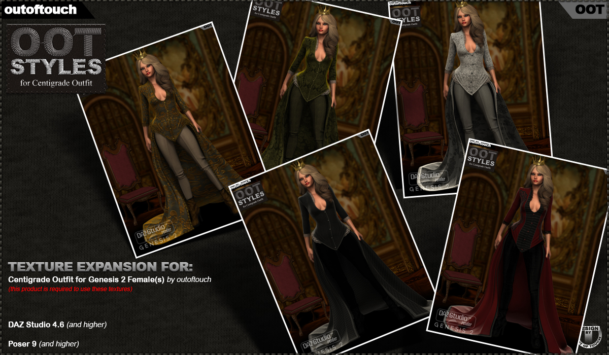 ROYAL STYLES for Centigrade Dress for Genesis 2 Female(s) by outoftouch
