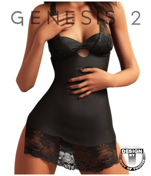 Natasha's Nighty for Genesis 2 Female(s) 3D Figure Assets outoftouch