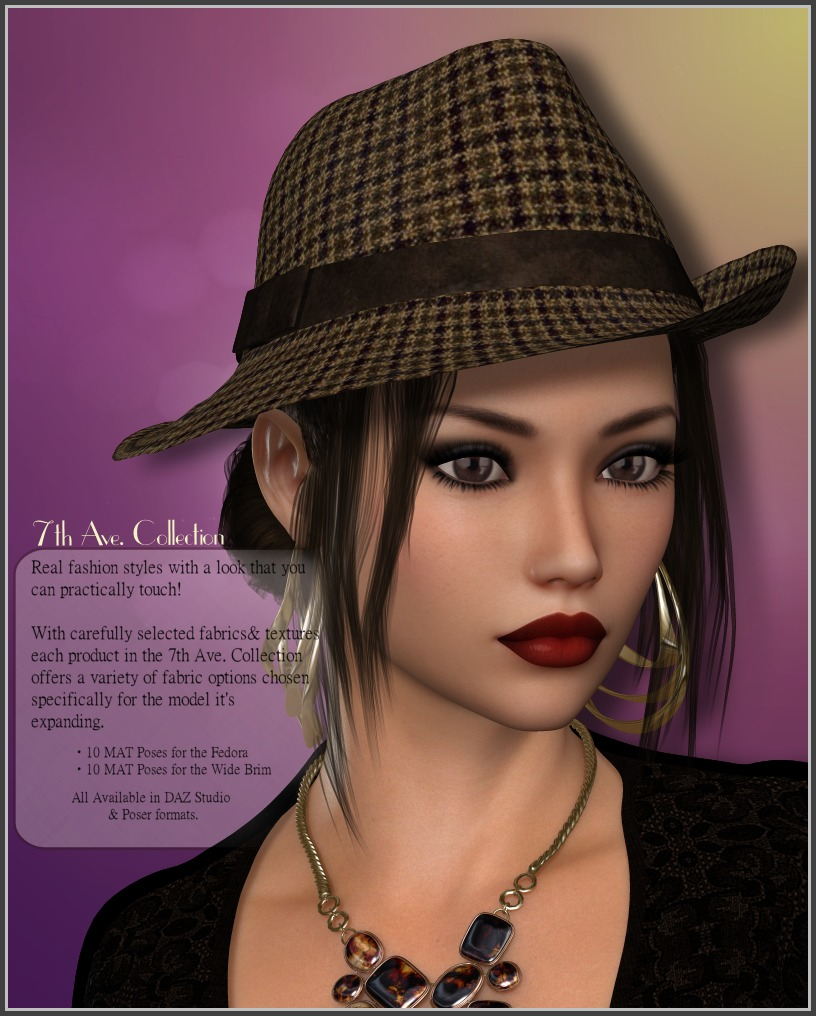 7th Ave: Beau Chapeauby3-DArena()