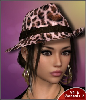 7th Ave: Beau Chapeau 3D Figure Essentials 3-DArena