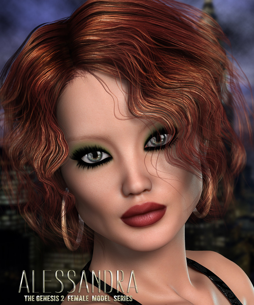 Alessandra for Genesis 2 Female by 3DSublimeProductions