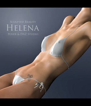 Sculpted Reality: Helena by adamthwaites 3D Figure Essentials adamthwaites