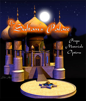 Toony Sultan's Palace by LukeA