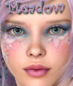 MDD Meadow for V4.2 3D Figure Assets Maddelirium