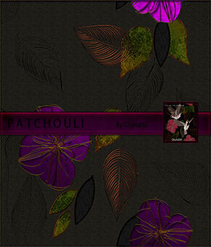 Patchouli:  A Merchant Resource Merchant Resources 2D Crystal46