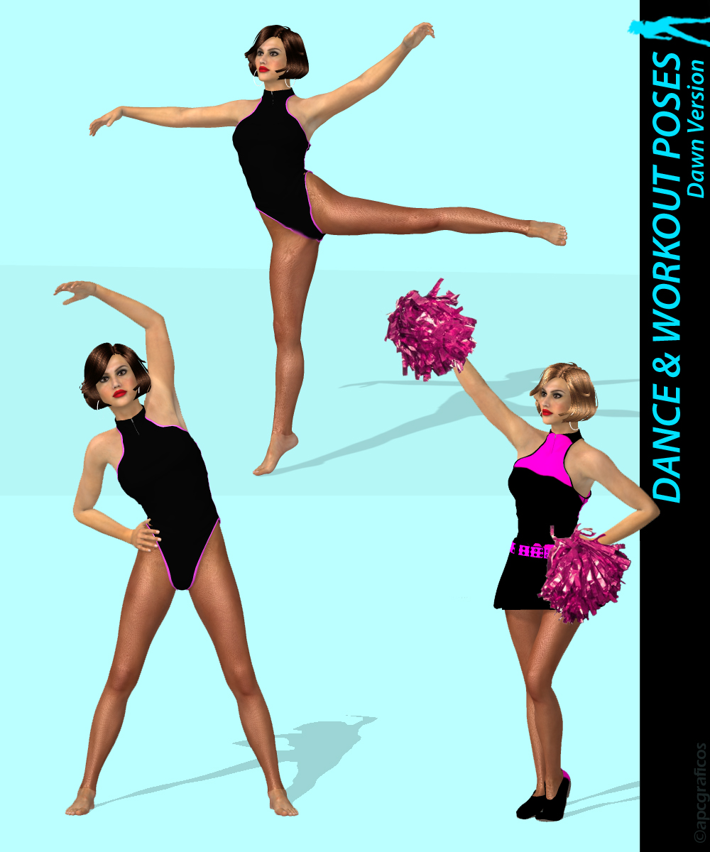 Dance & Workout Poses for Dawn