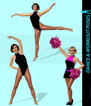 Dance & Workout Poses for Dawn 3D Figure Essentials apcgraficos